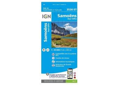 Carte IGN 3530ET Samoëns