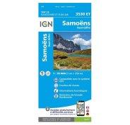 Carte IGN Samoëns 3530ET