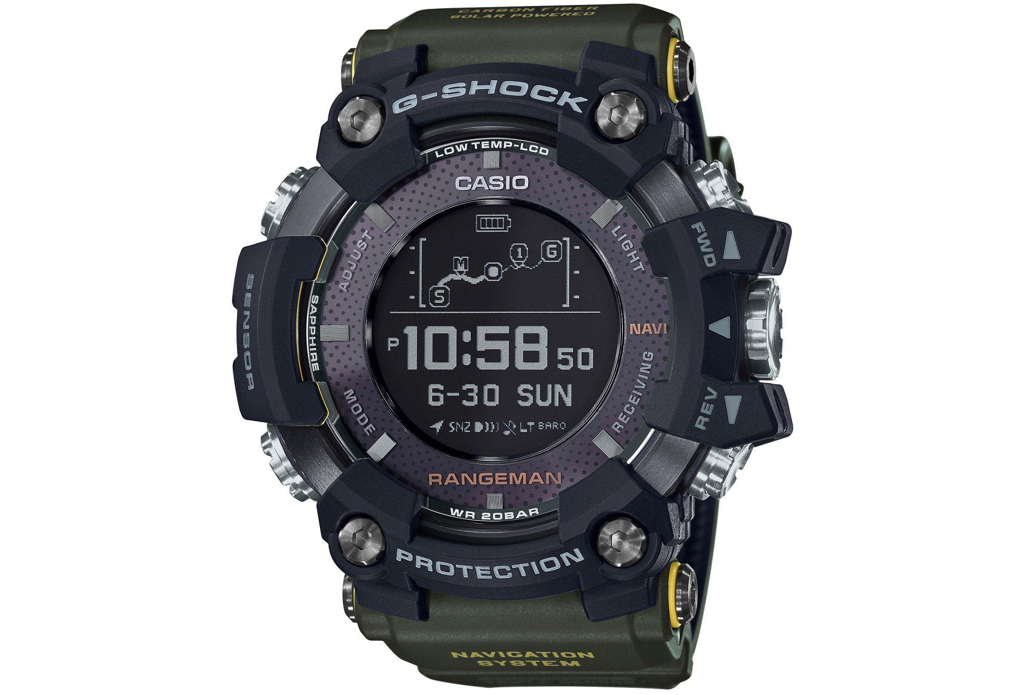 Casio G-Shock rangeman gpr-b1000 cardio-gps