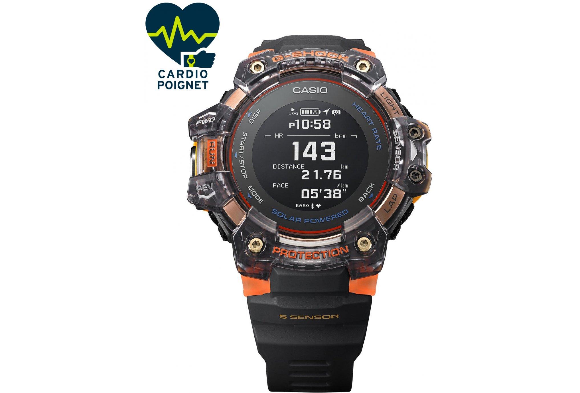 Casio G-SQUAD HR GBD-H1000-1A4ER Cardio-Gps