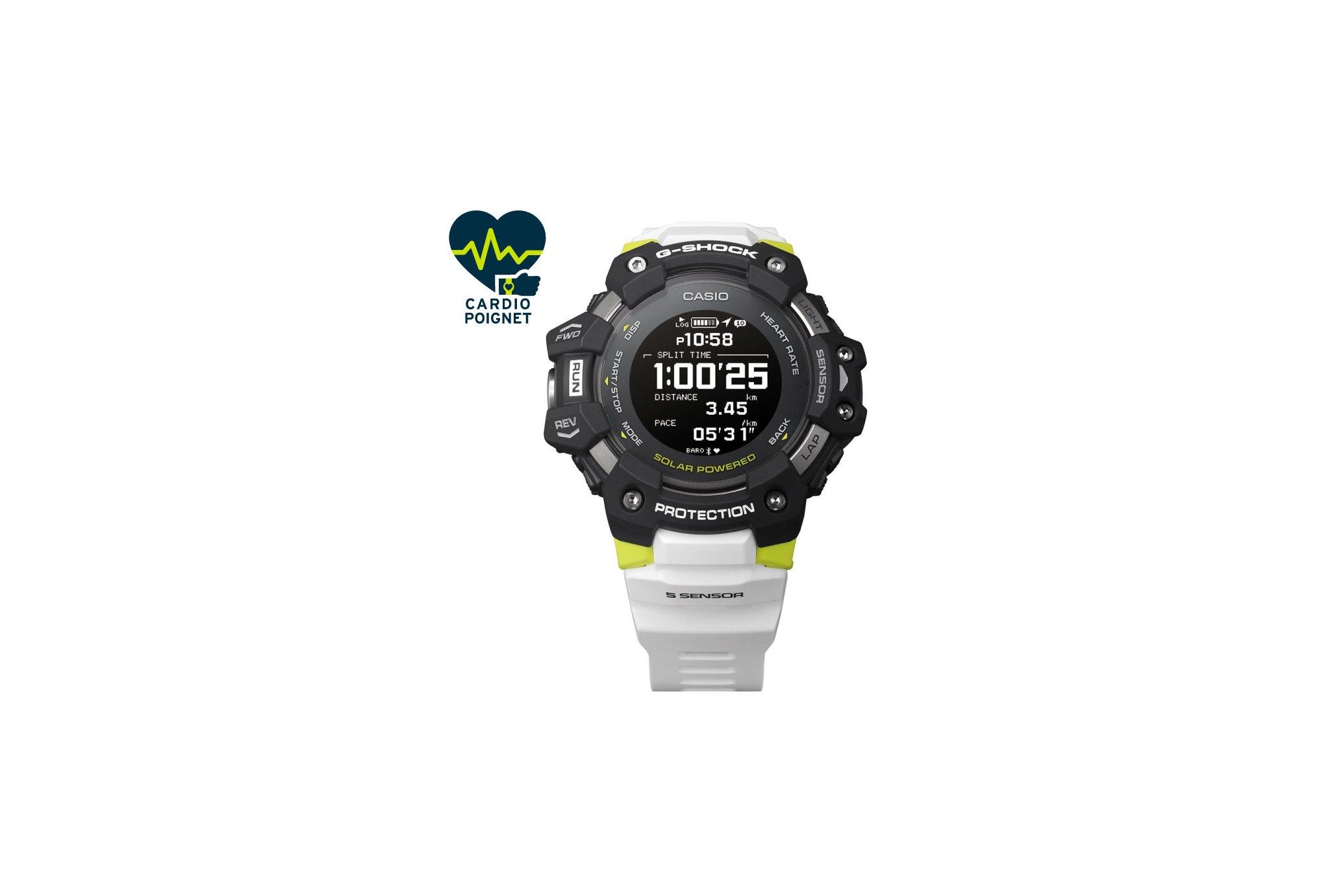 Casio G-SQUAD HR GBD-H1000-1A7ER Cardio-Gps