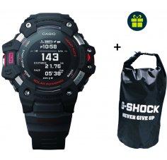 Casio G-SQUAD HR GBD-H1000-8ER et sac étanche G-Shock offert