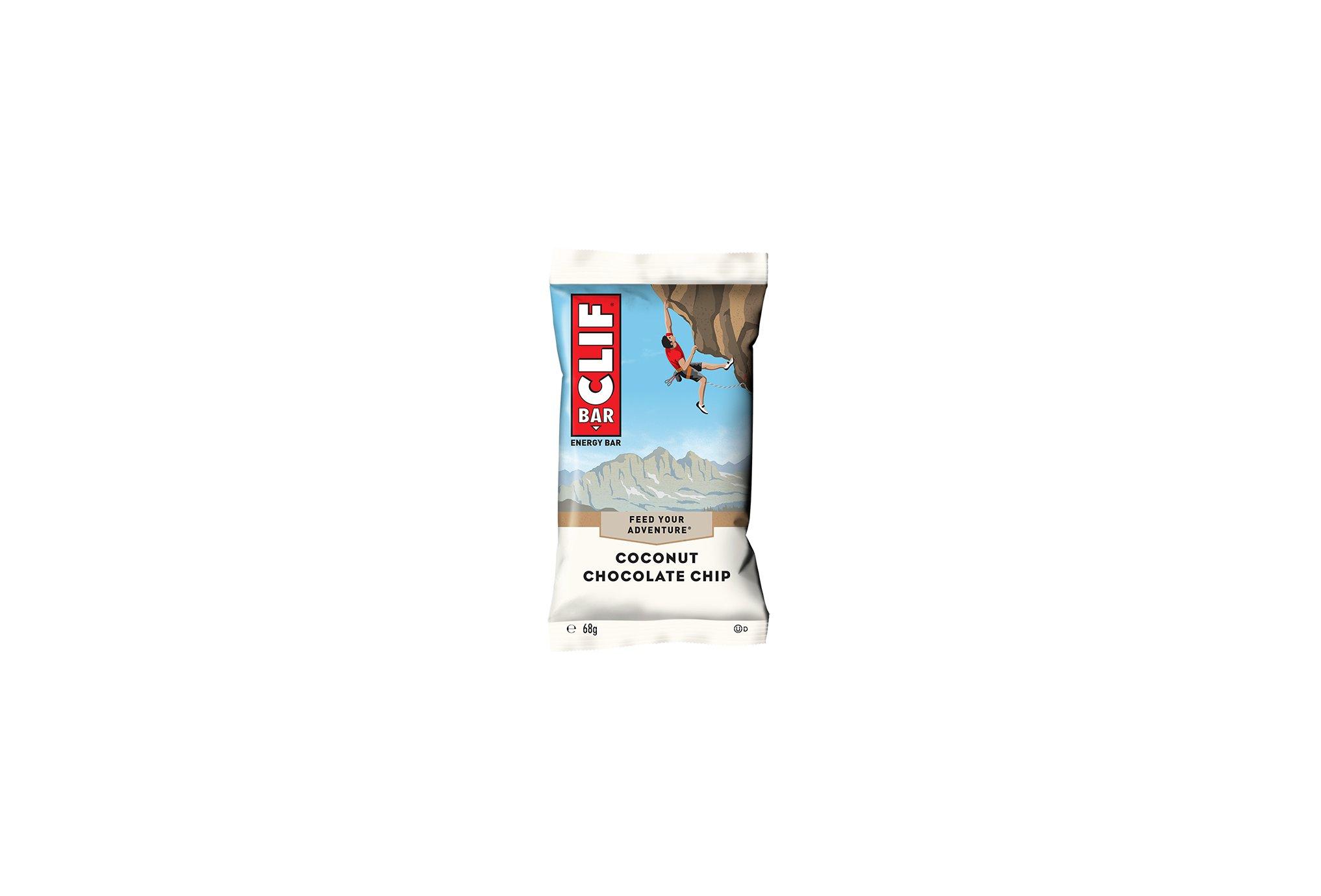 Clif Bar - Noix de coco et Pépites de Chocolat Diététique Barres