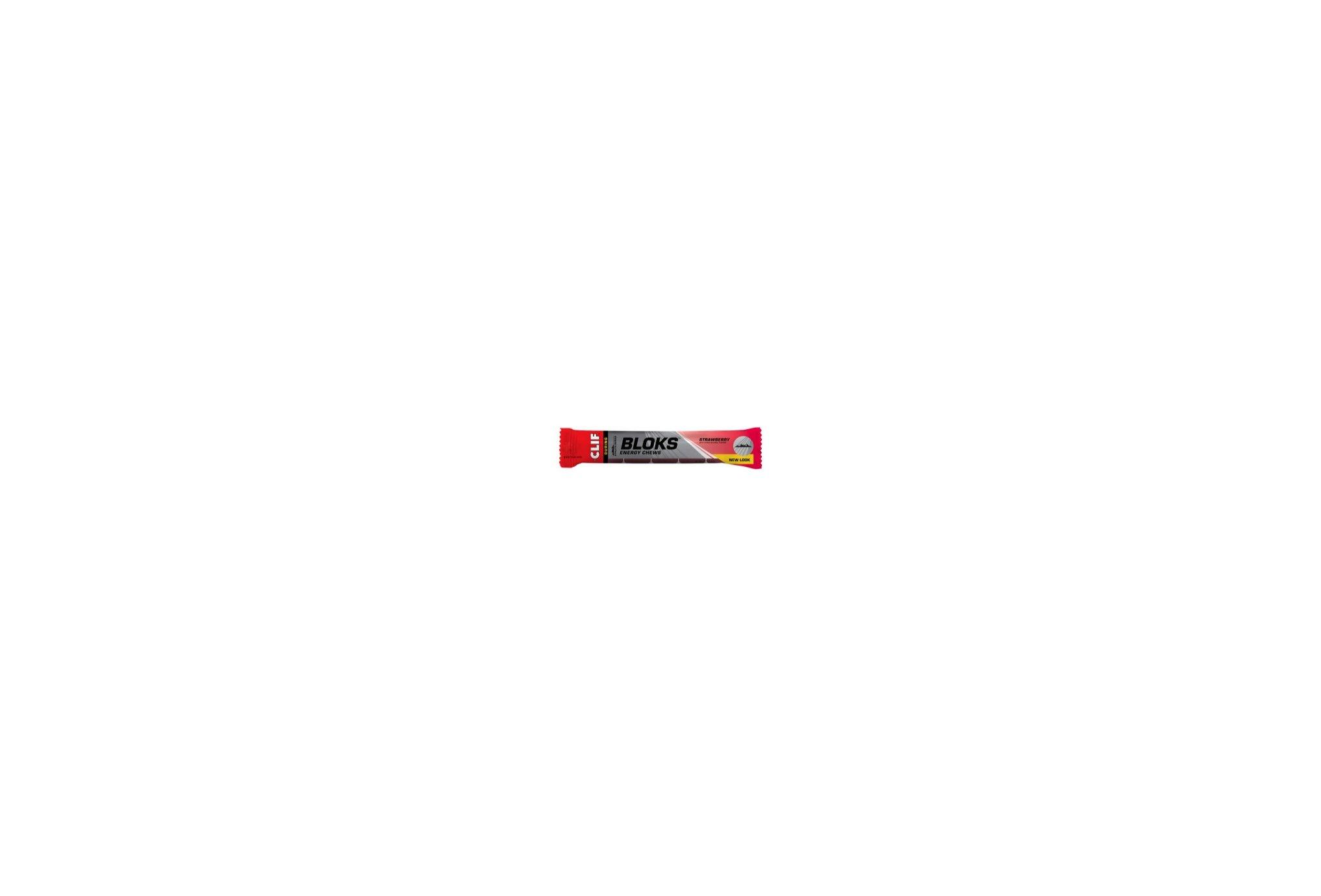 Clif Shot Bloks - Stawberry Diététique Barres