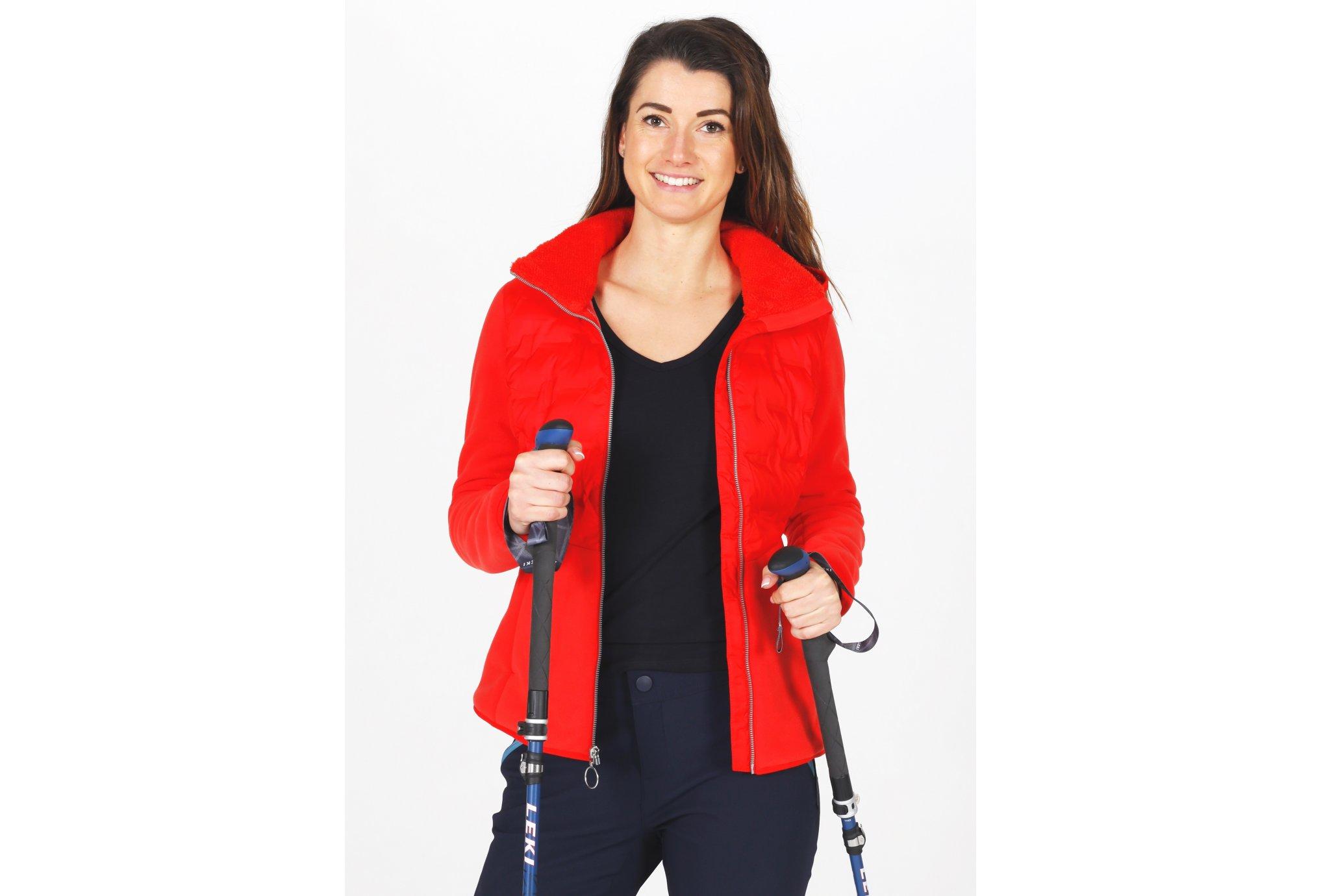 Columbia Delta Ridge Hybrid Fleece W vêtement running femme