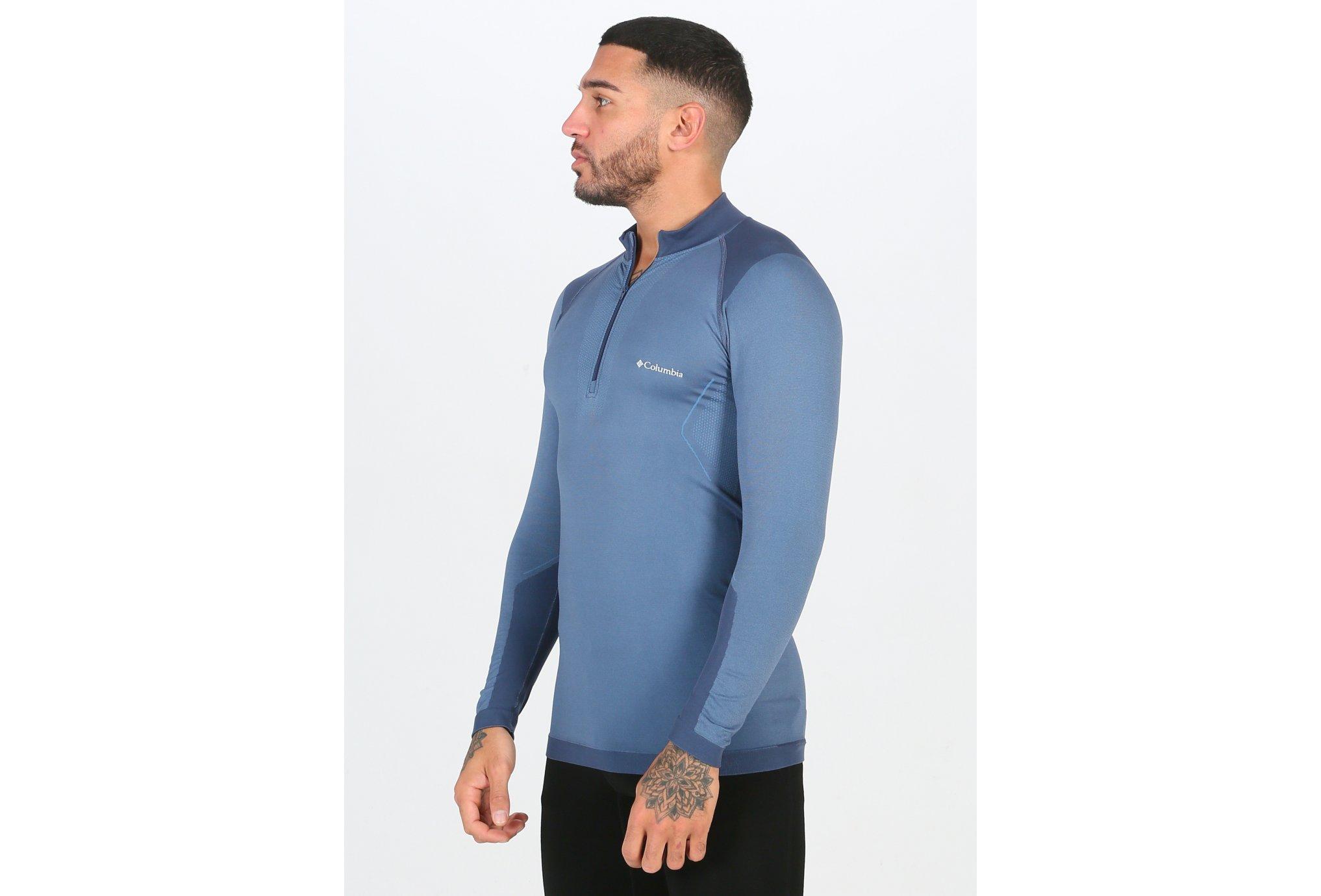 Columbia Engineered Half Zip M vêtement running homme