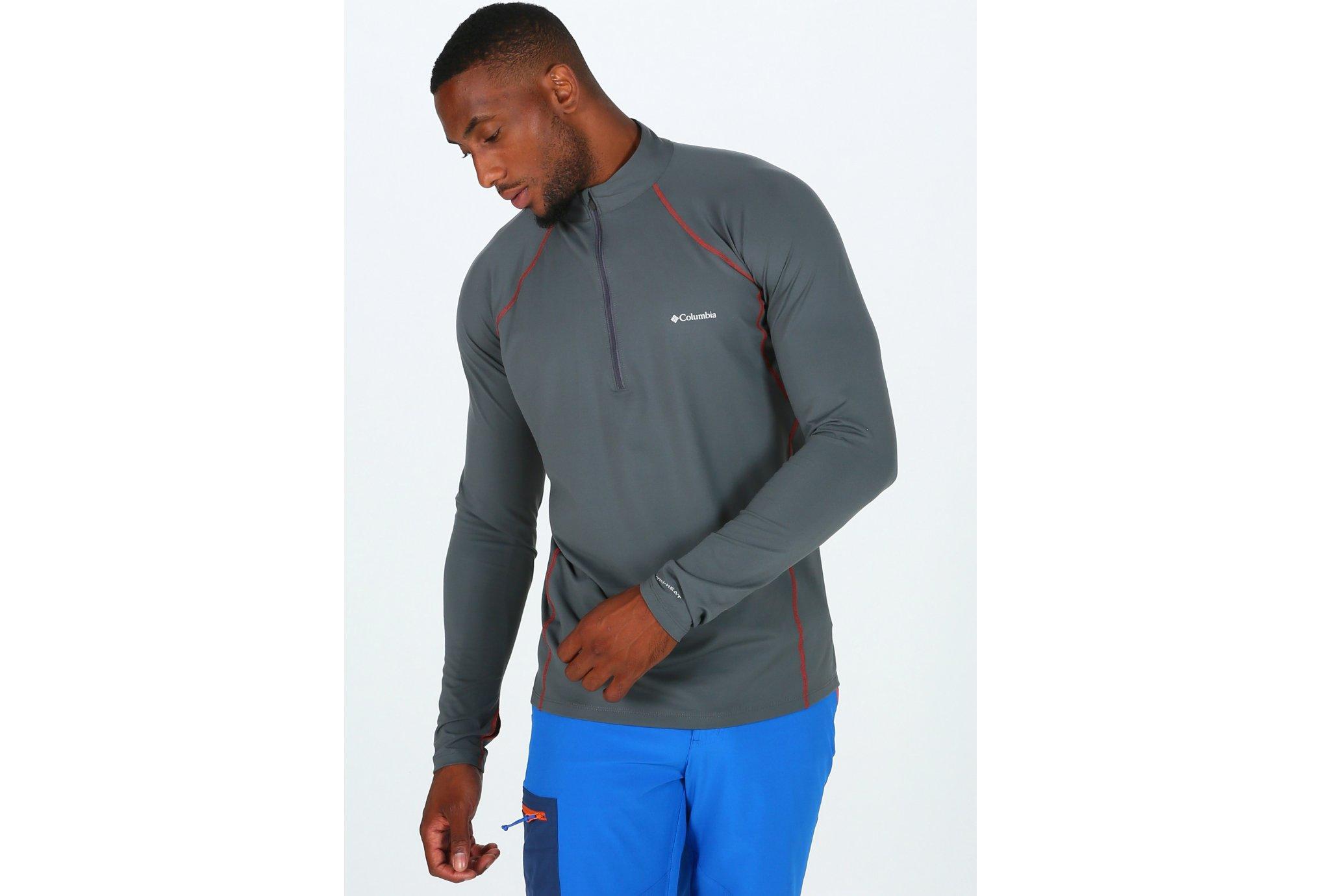 Columbia Midweight Stretch 1/2 zip M Diététique Vêtements homme