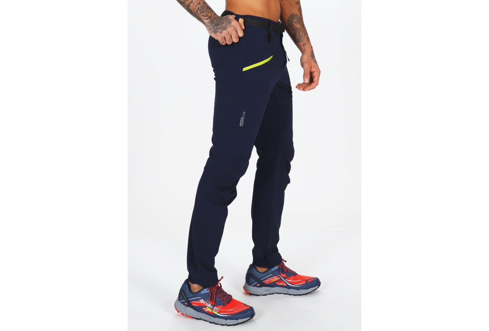 Columbia Peak Pursuit Softshell - Short M vêtement running homme