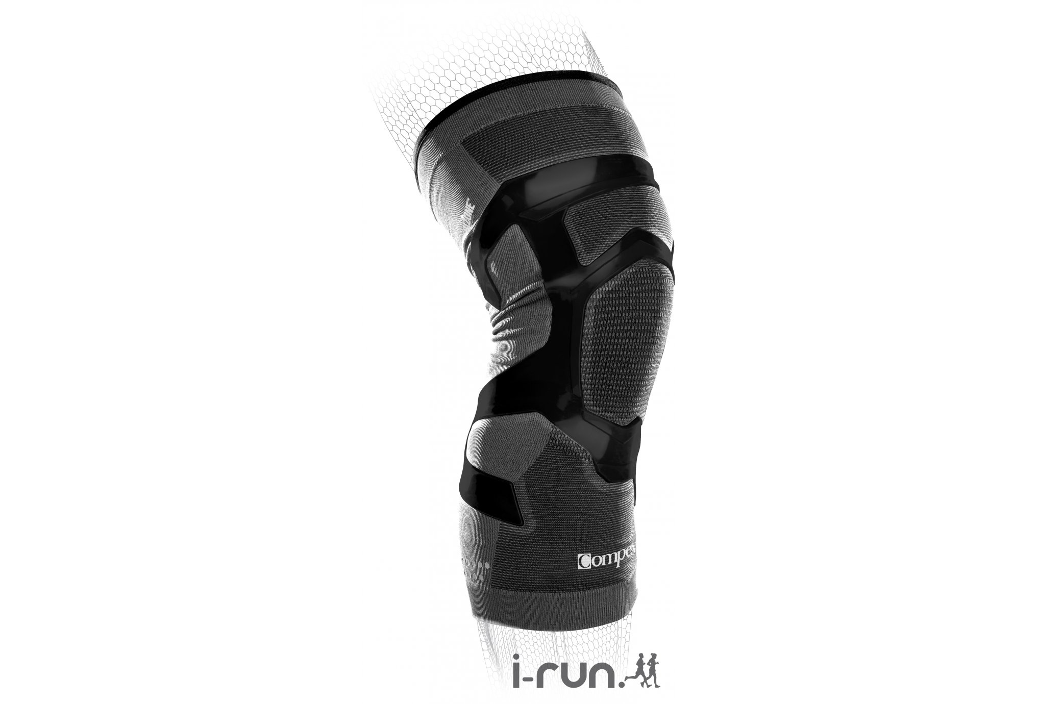 Compex TriZone Knee Right Protection musculaire & articulaire
