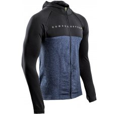 Compressport 3D Thermo Seamless Zip Hoodie Black Édition 10 Years M