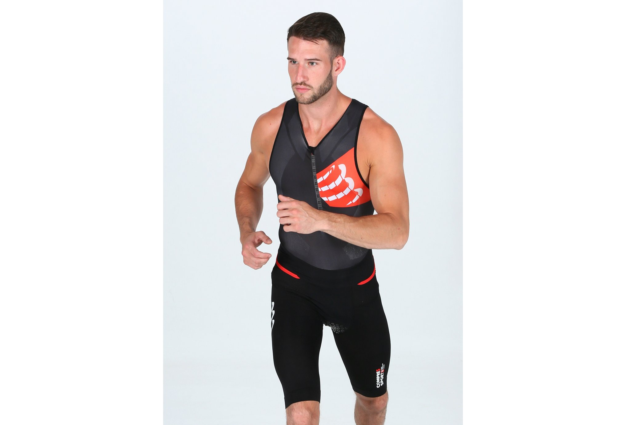 Compressport Aero Trisuit M vêtement running homme