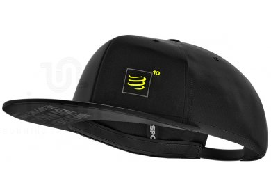 Compressport Flat Cap Black Édition 10 Years