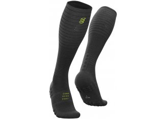 Compressport calcetines Full Socks Oxygen Black Edition