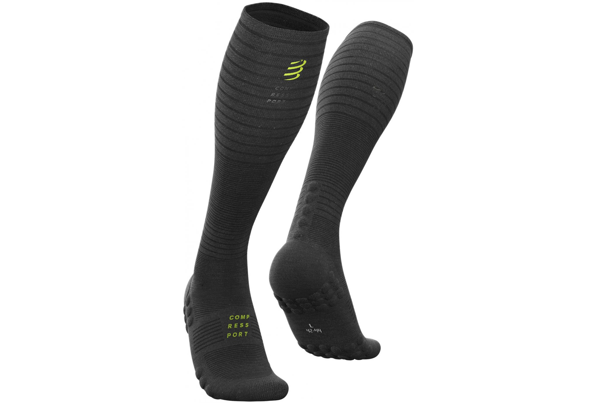 Compressport Full Socks Oxygen Black Edition Chaussettes