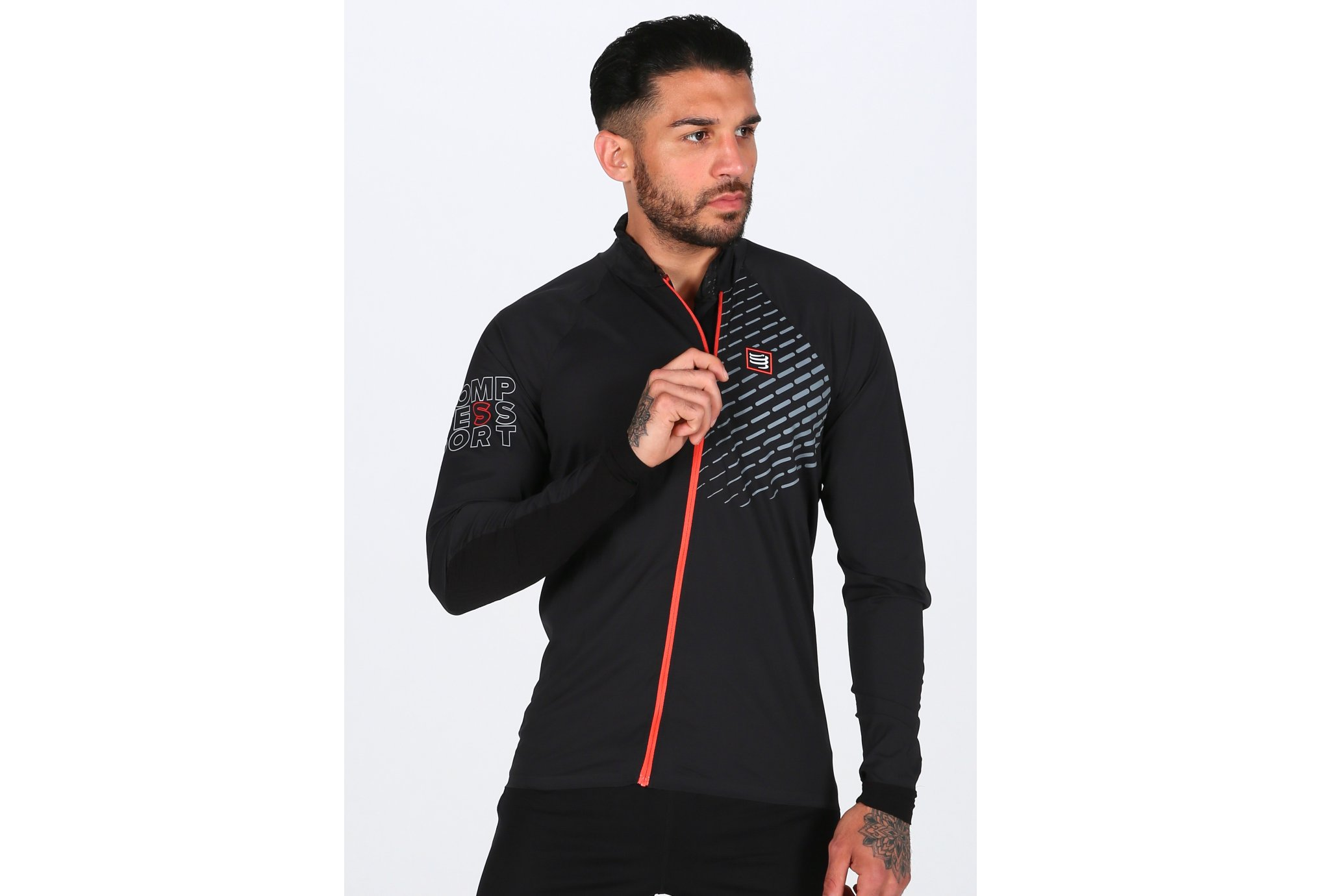 Compressport Hurricane Jacket V2 M vêtement running homme