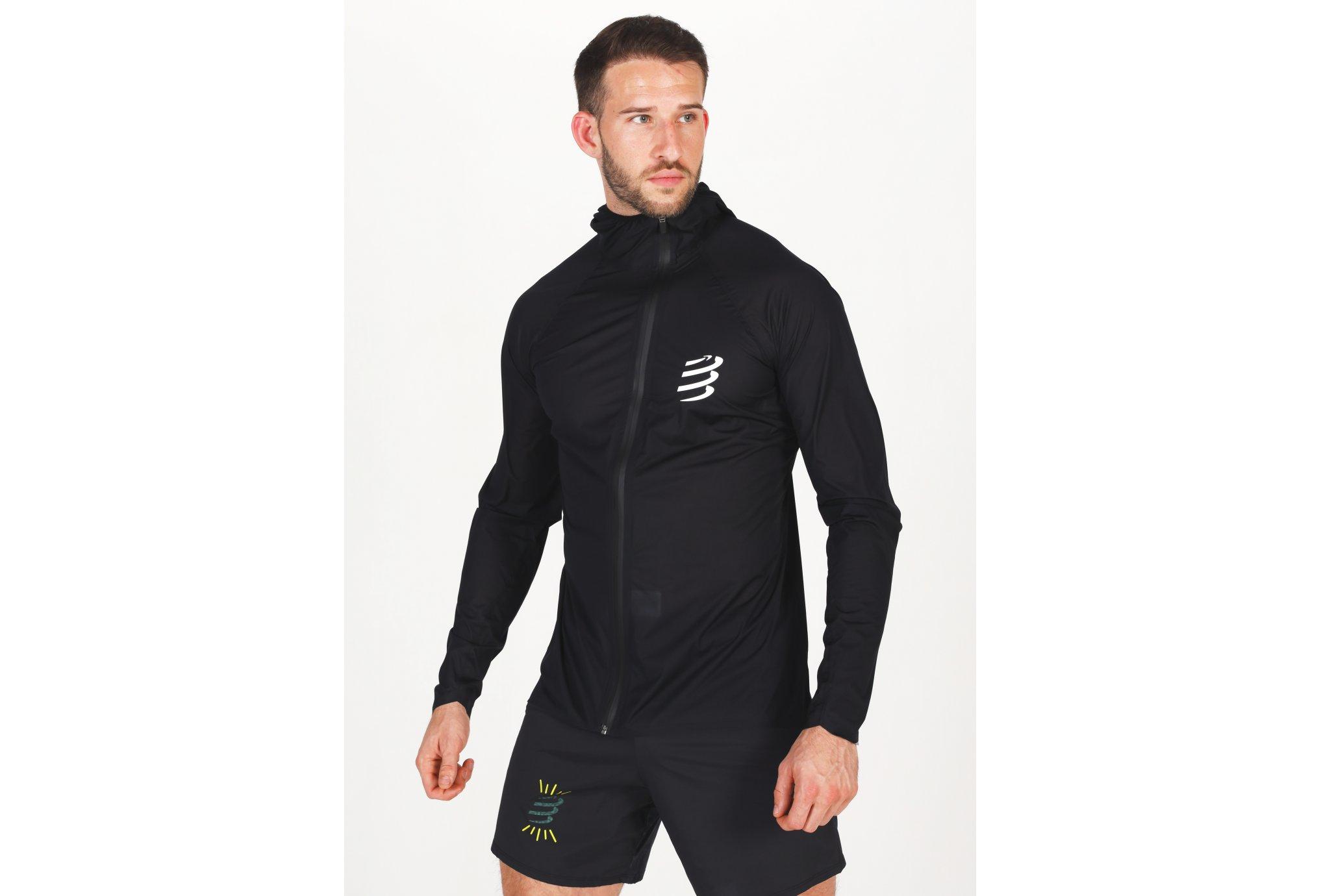Compressport Hurricane Waterproof 10/10 M vêtement running homme