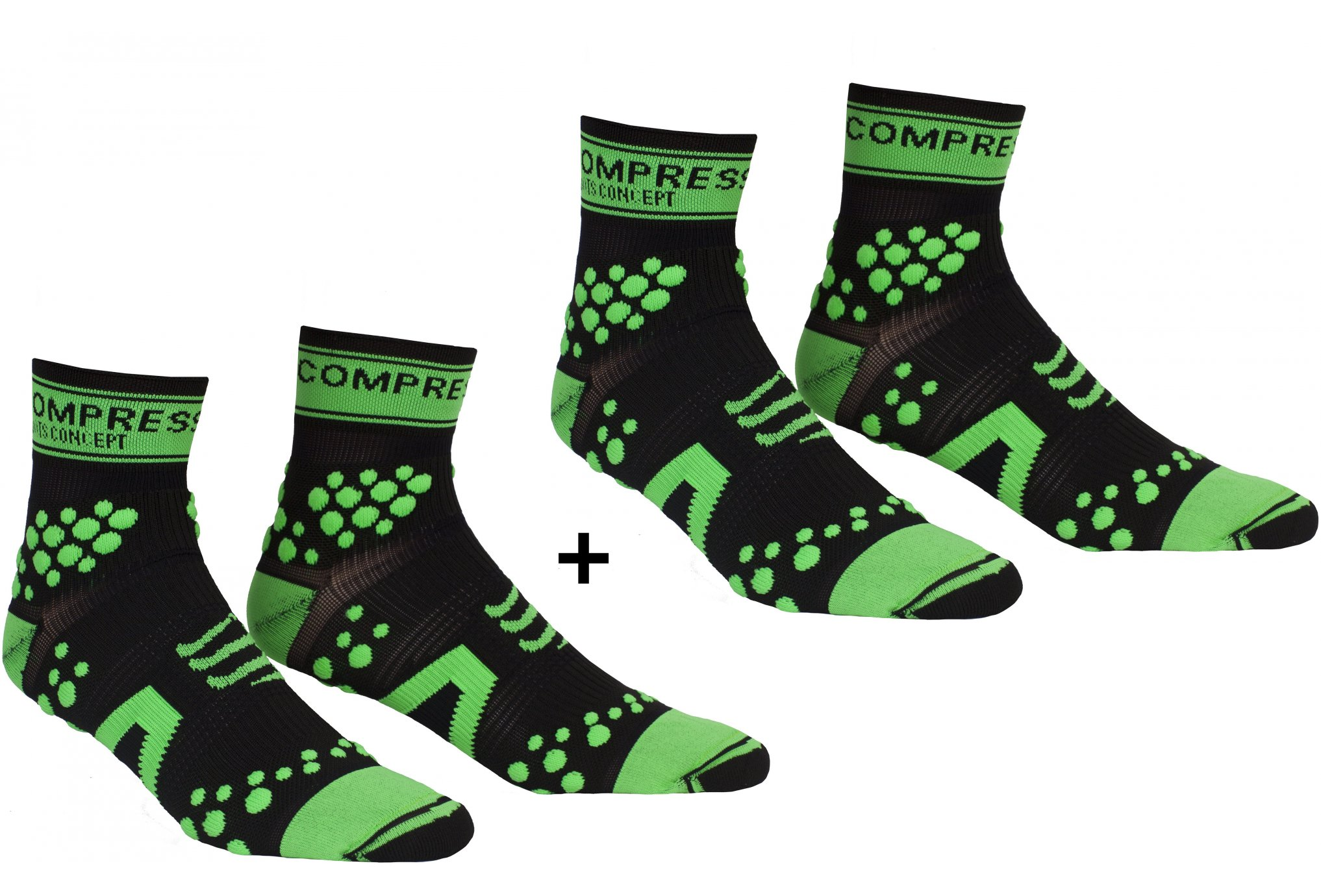Compressport Pack Chaussettes Pro Racing Trail V2 Chaussettes