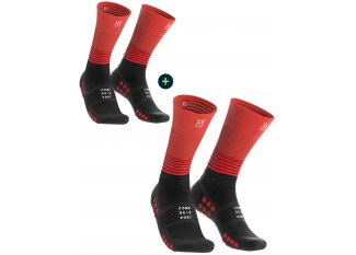 Compressport pack de calcetines Mid Compression