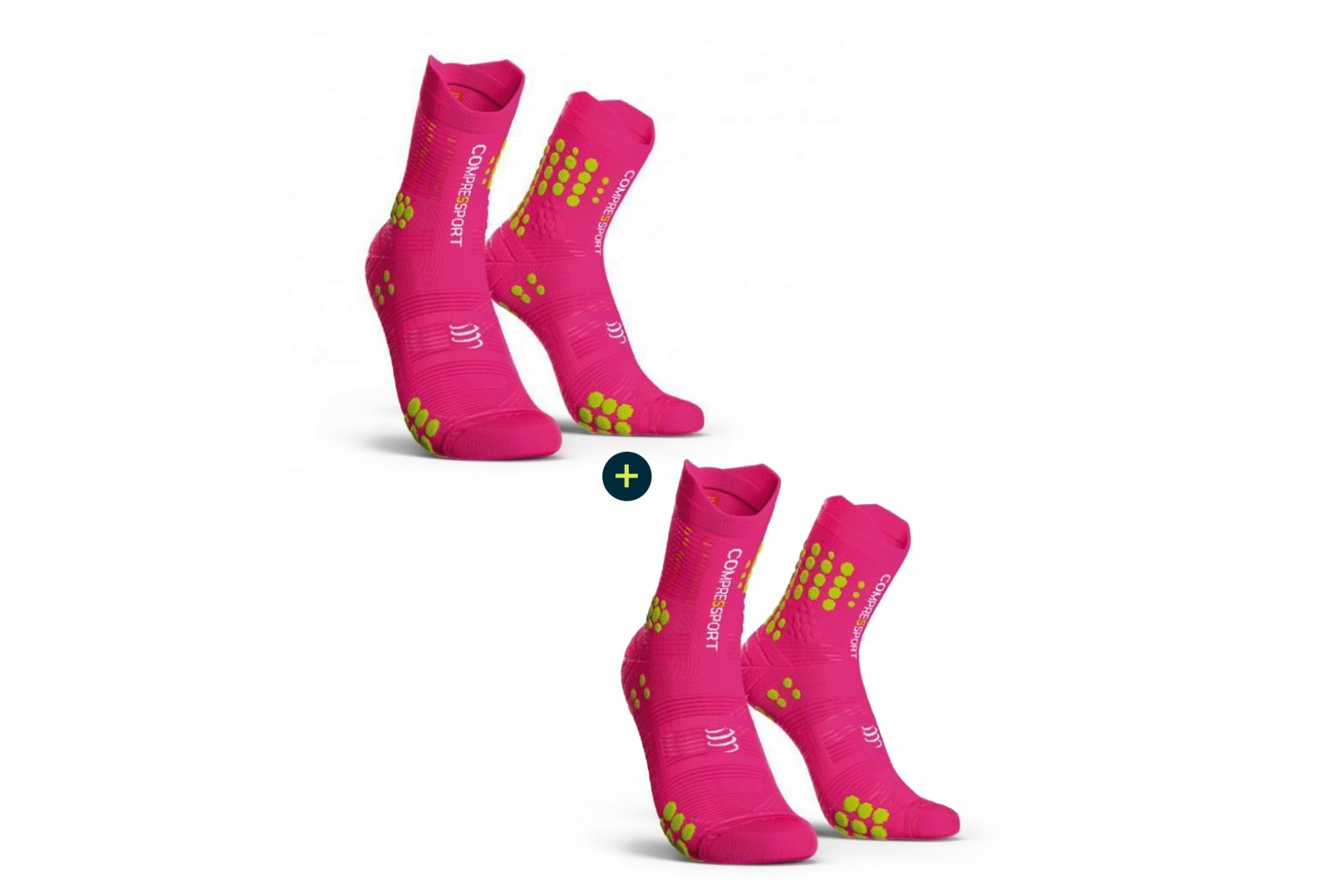 Compressport Pack Pro Racing V 3.0 Trail Chaussettes