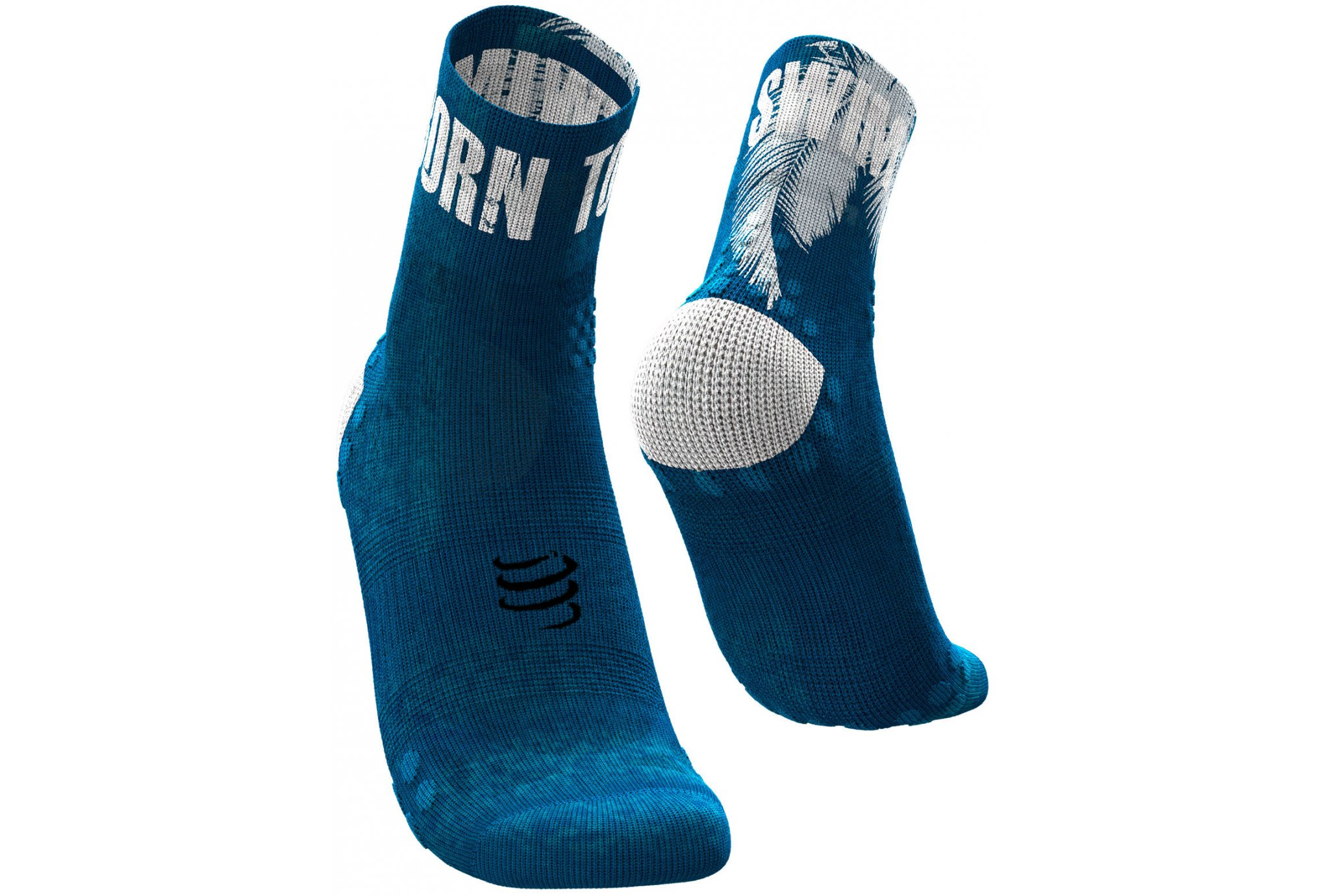 Compressport Pro Racing V 3.0 Ultralight Run High Kona Chaussettes