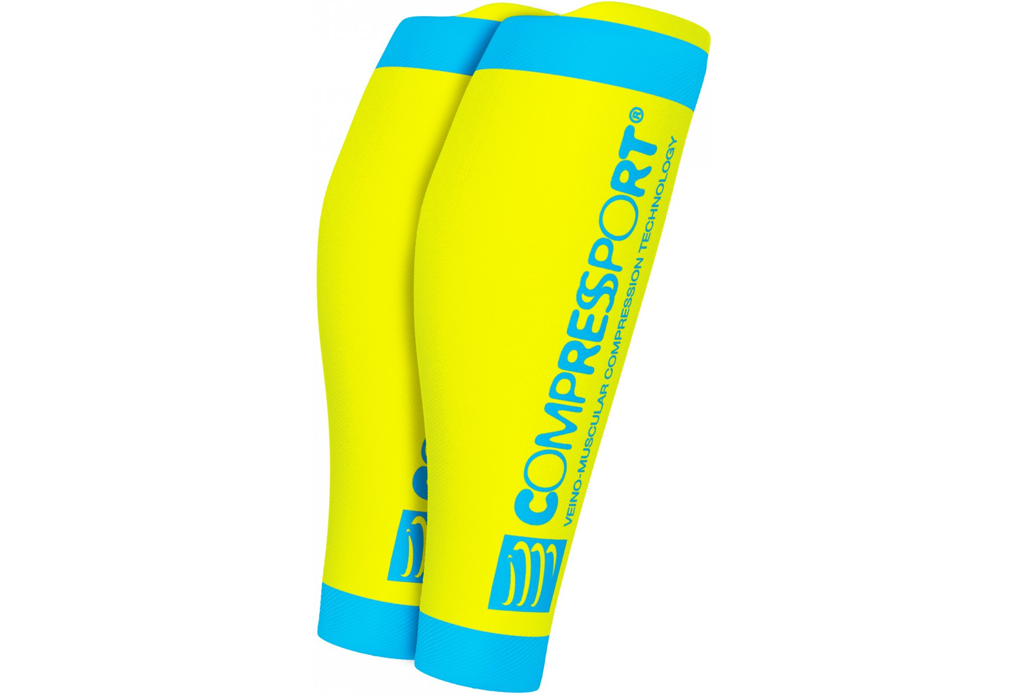 Compressport R2 V2 Fluo Manchons