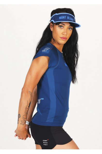 Compressport camiseta manga corta Training Mont Blanc 2021