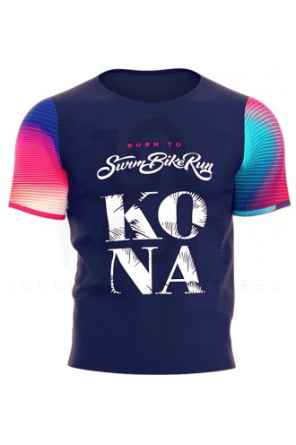 Training Compressport Homme Pas Bleu Tshirt M 2018 Kona Cher CoBrdxe