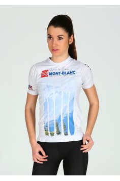 Compressport Training Tshirt Mont Blanc 2017 W