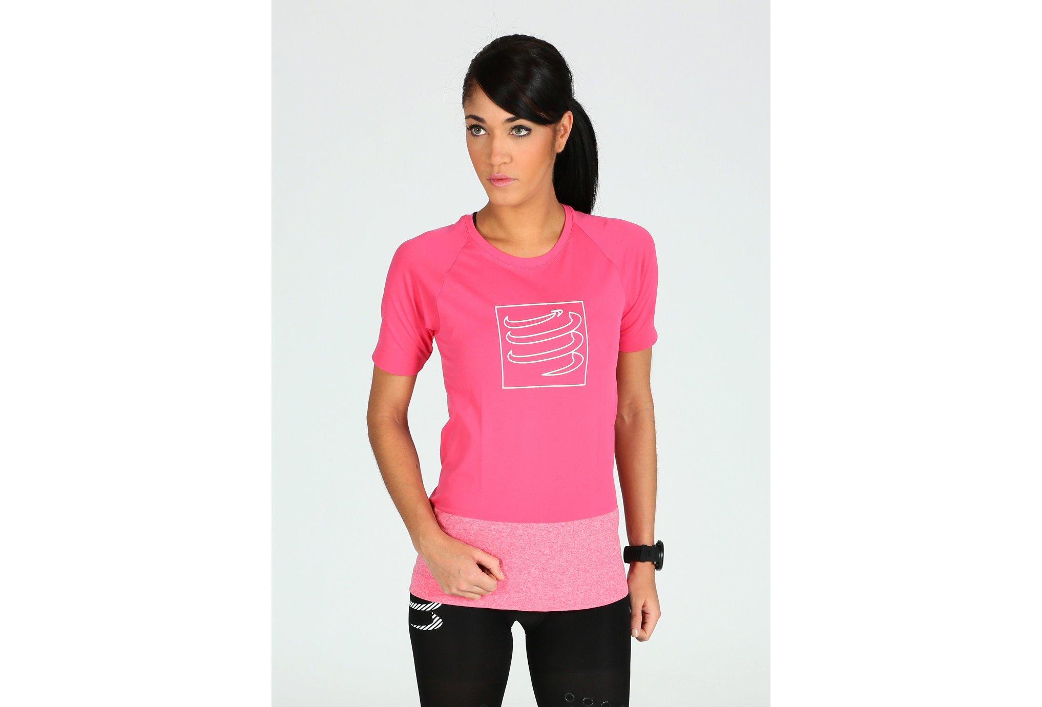Compressport Training Tshirt W Diététique Vêtements femme