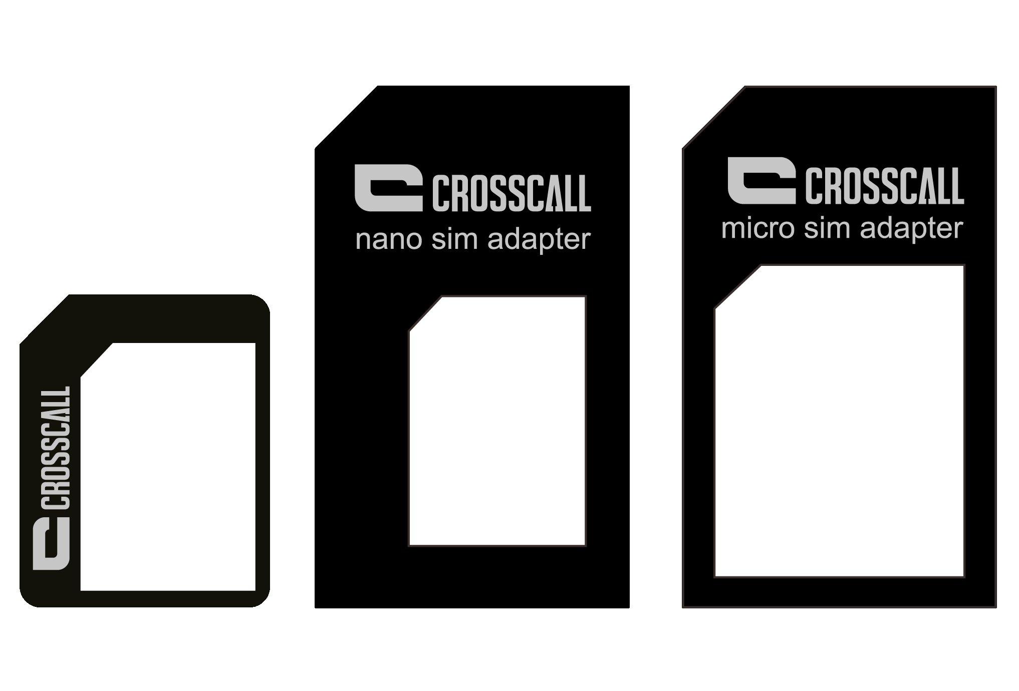 Crosscall Adaptateur carte SIM/Nano/Micro Accessoires téléphone