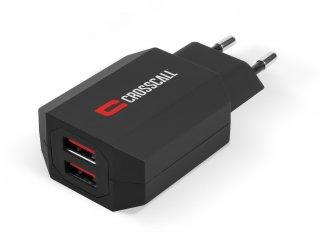 Crosscall Cargador de red con doble USB