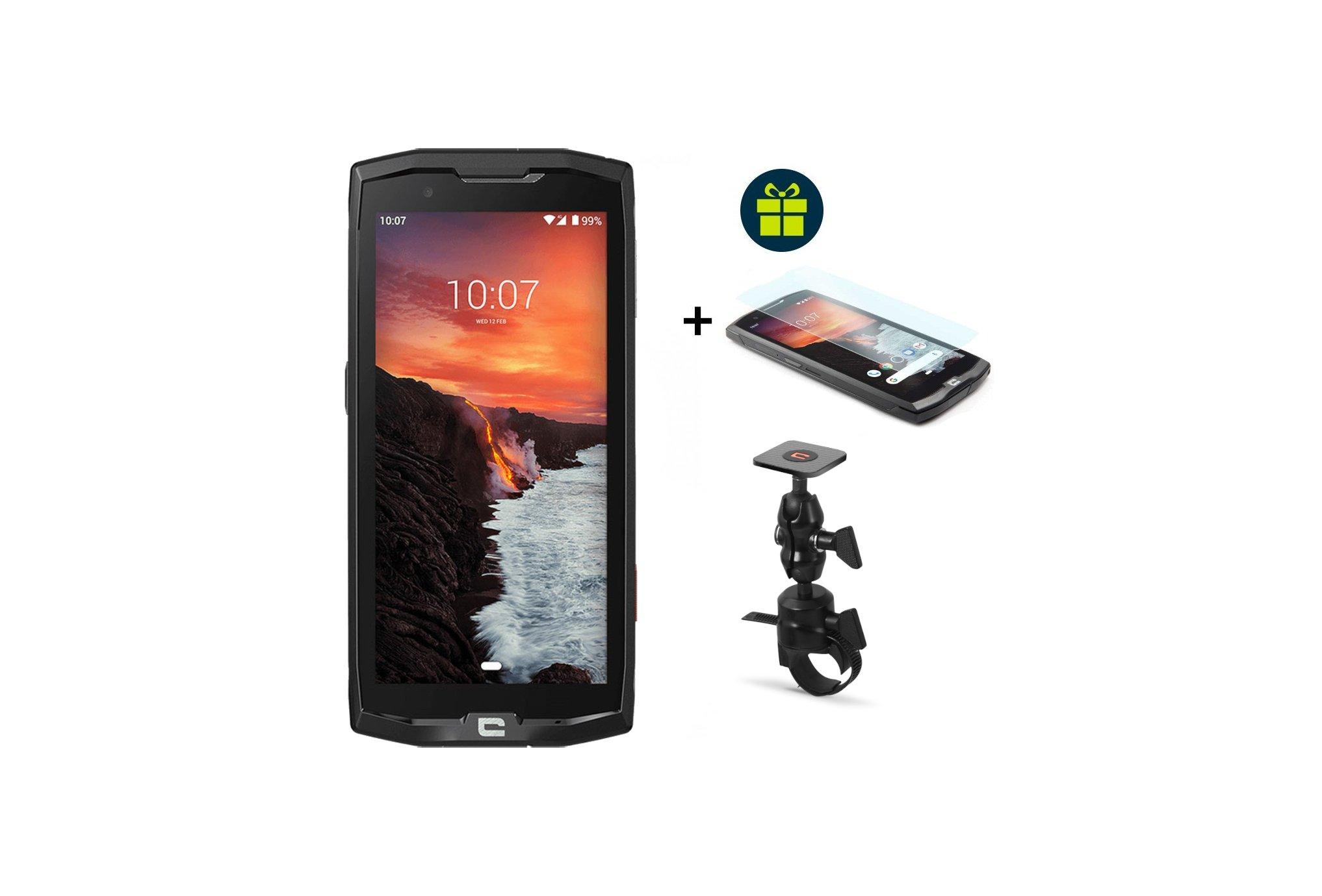 Crosscall Pack Core-X4 Verre trempé X-Glass et X-Bike Téléphone Outdoor