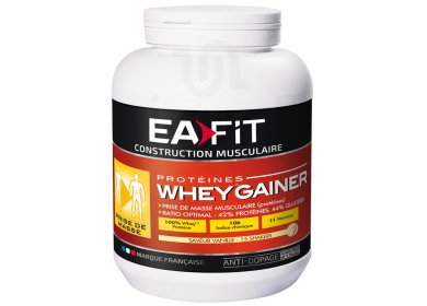 EAFIT  Whey Gainer 750g - vanille