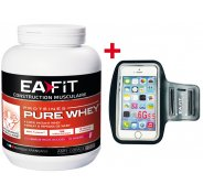 EAFIT Pure Whey 750g - Yaourt Fruits Rouges + Brassard