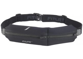 Fitletic Cinturón de doble bolsillo