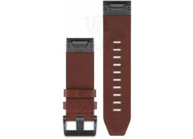 Garmin Bracelet cuir QuickFit - 26mm
