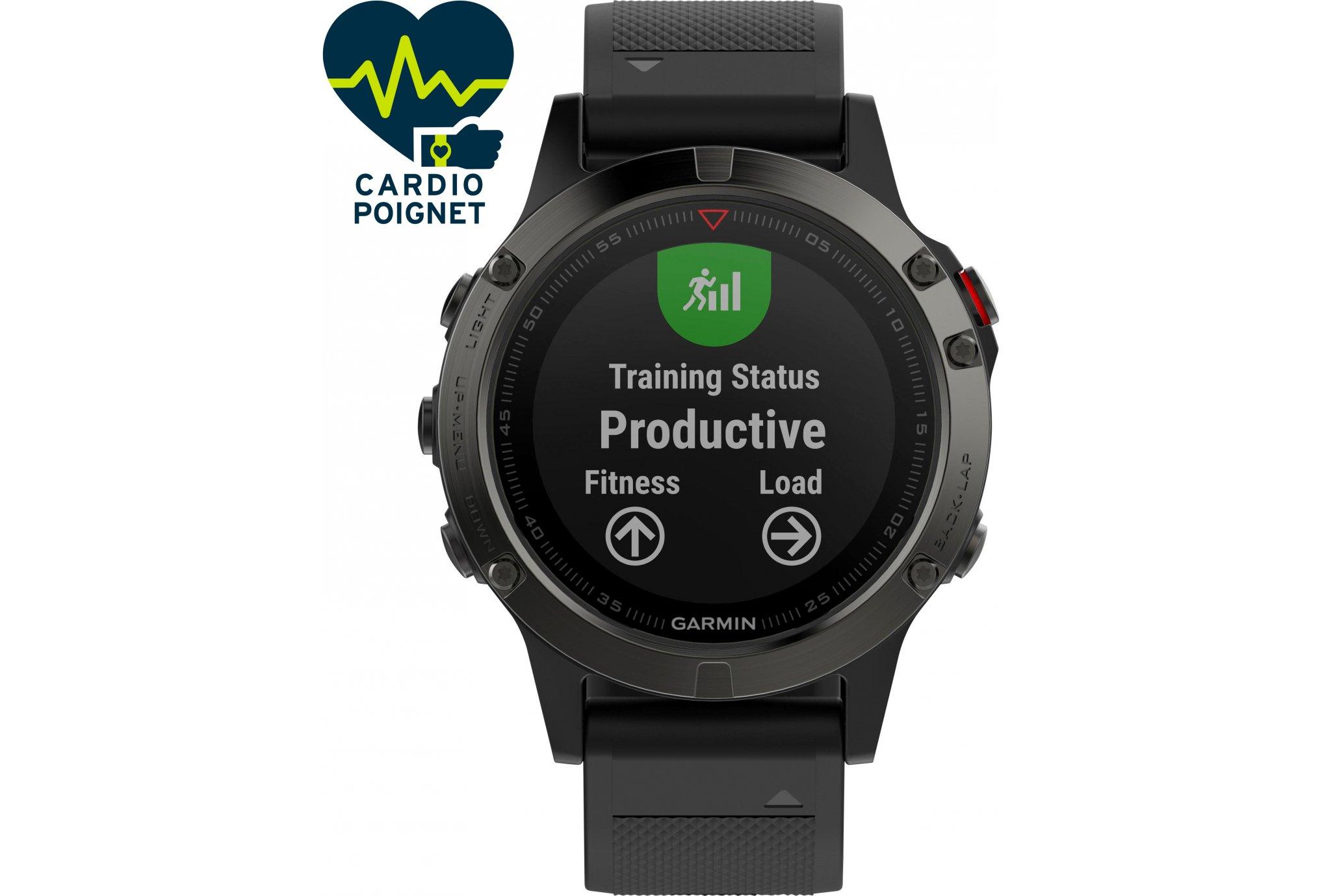 Garmin Reloj Fenix 5S GPS Multisports Cardio-Gps