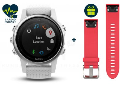 Garmin Fenix 5S GPS Multisport + Bracelet Offert