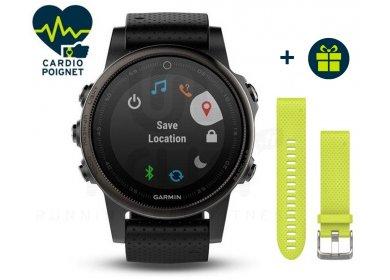 Garmin Fenix 5S GPS Multisport Sapphire Black + Bracelet QuickFit