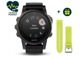 Garmin Fenix 5S GPS Multideportes Zafiro Black + correa QuickFit