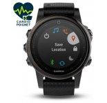 Garmin Fenix 5S GPS Multisport Sapphire Black
