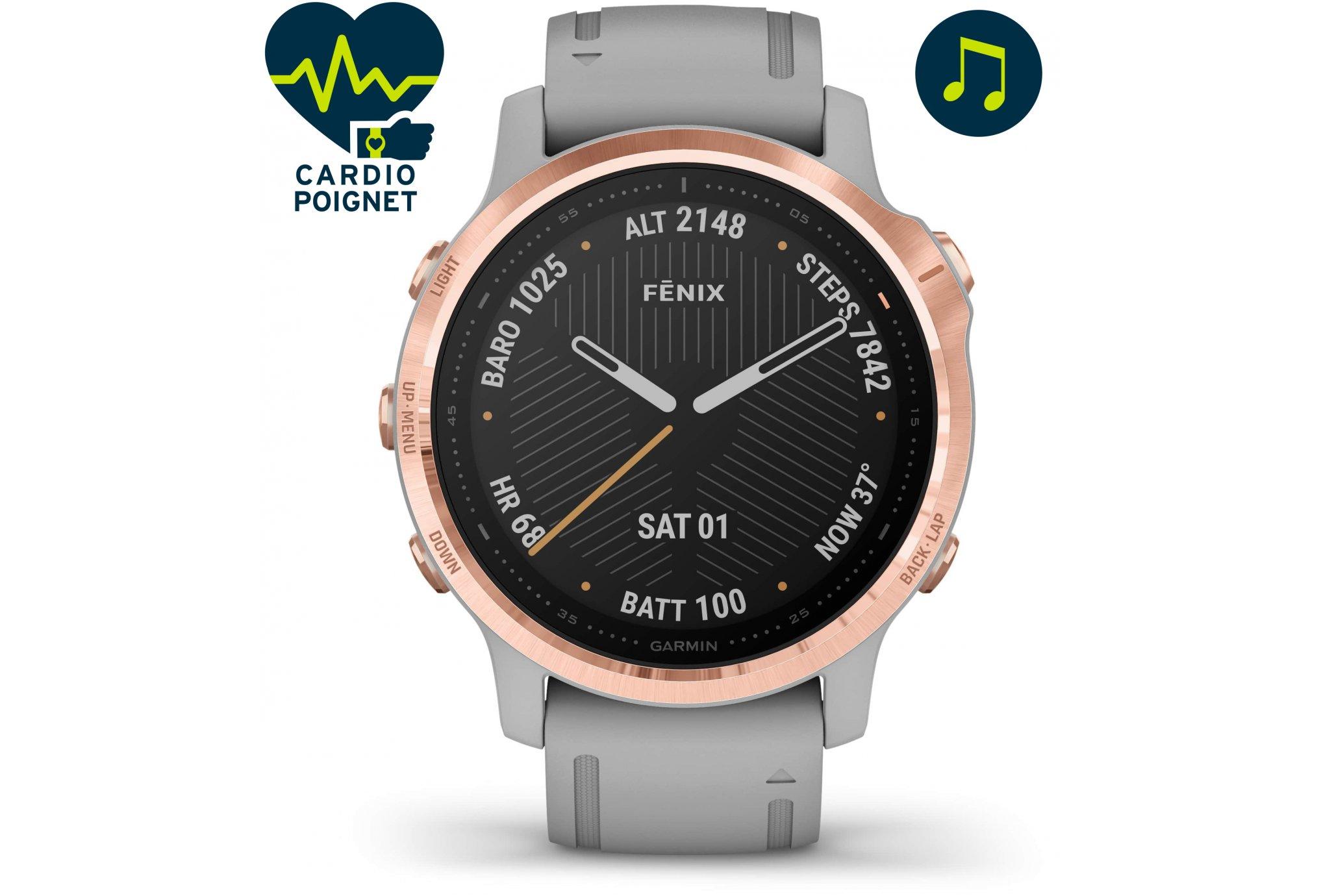 Garmin Fenix 6S Zafiro Cardio-Gps