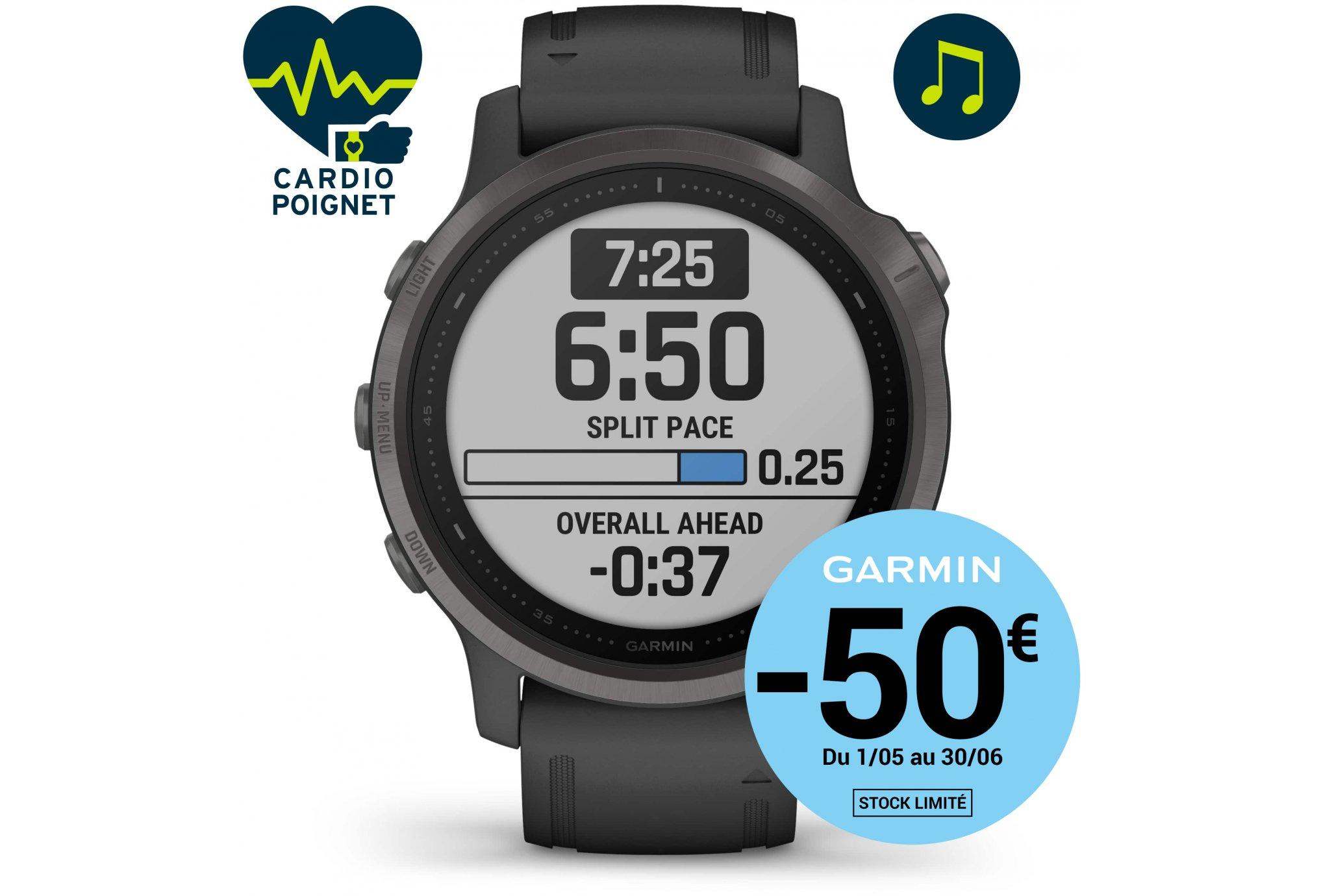 Garmin Fenix 6S Sapphire Cardio-Gps