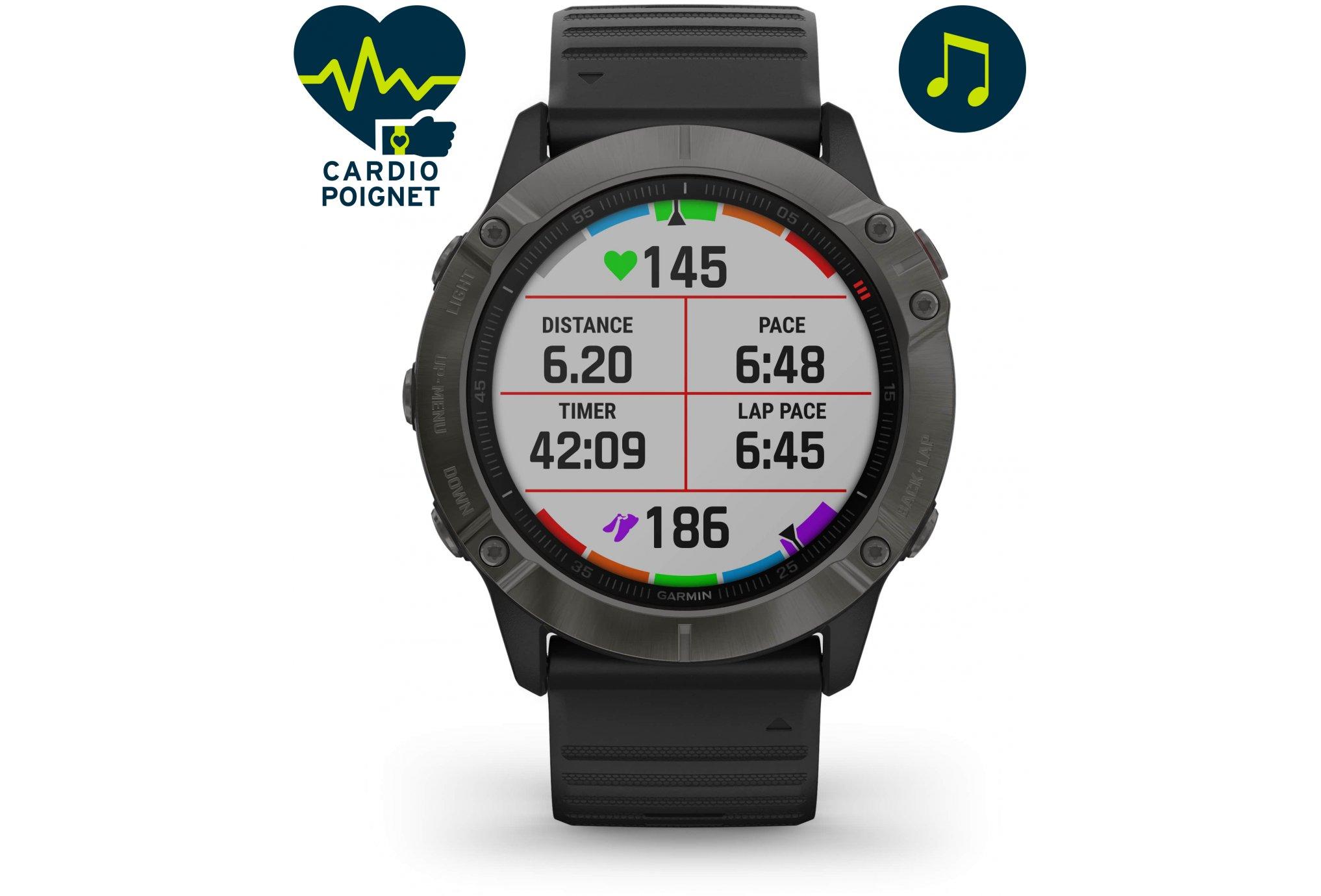 Garmin Fenix 6X Zafiro Cardio-Gps