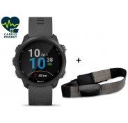 Garmin Pack Forerunner 245 + Ceinture cardio-fréquencemètre textile