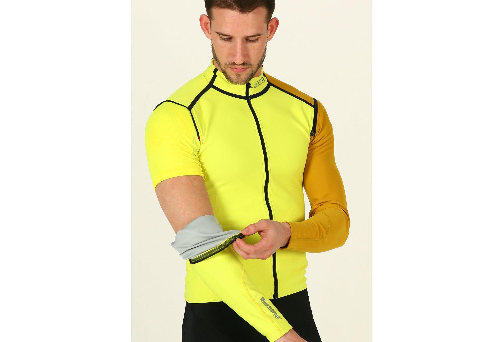 Gore Wear Fusion WindStopper Soft Shell Zip-Off M vêtement running homme