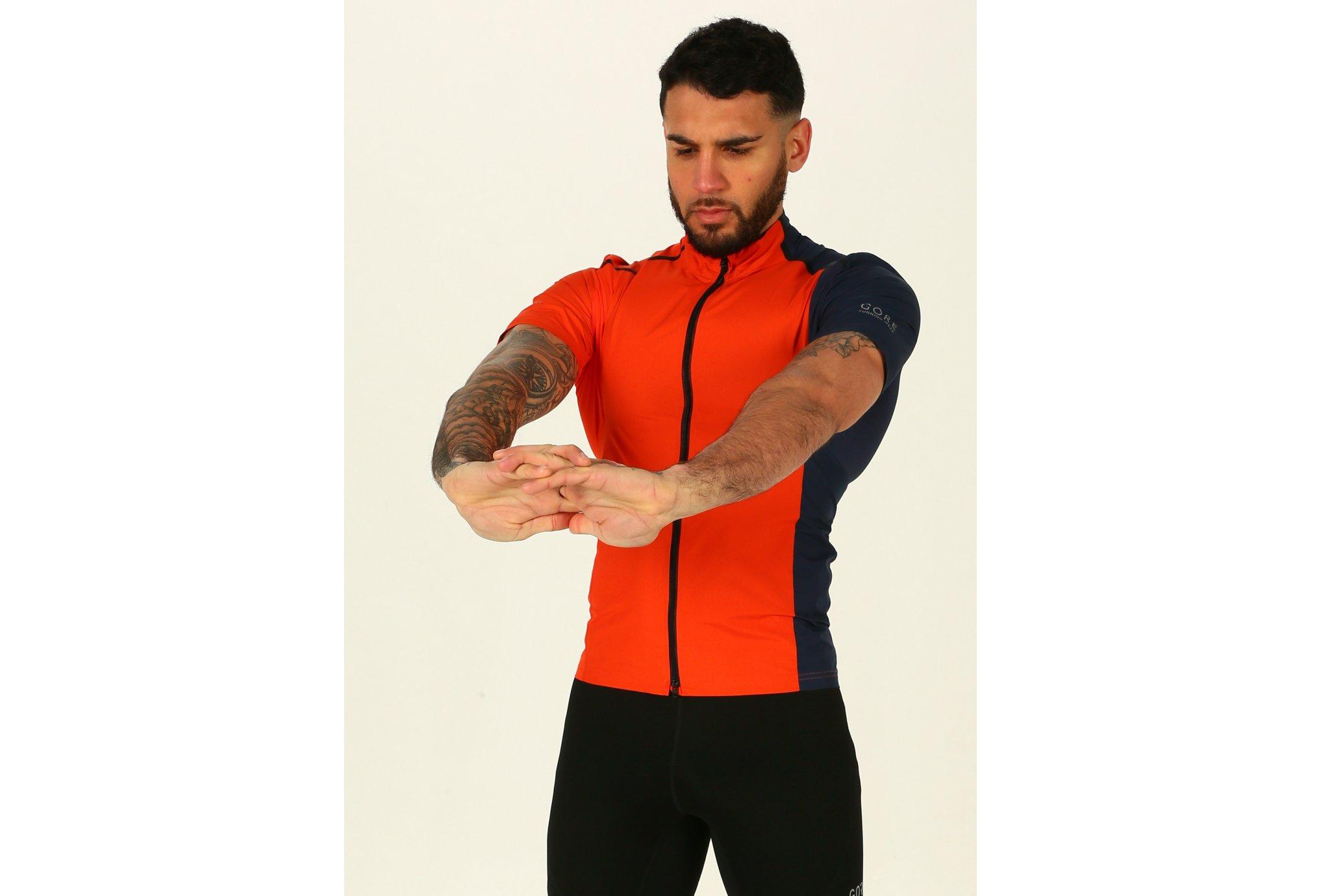 Gore Wear Fusion WindStopper SoftShell Zip-Off M vêtement running homme