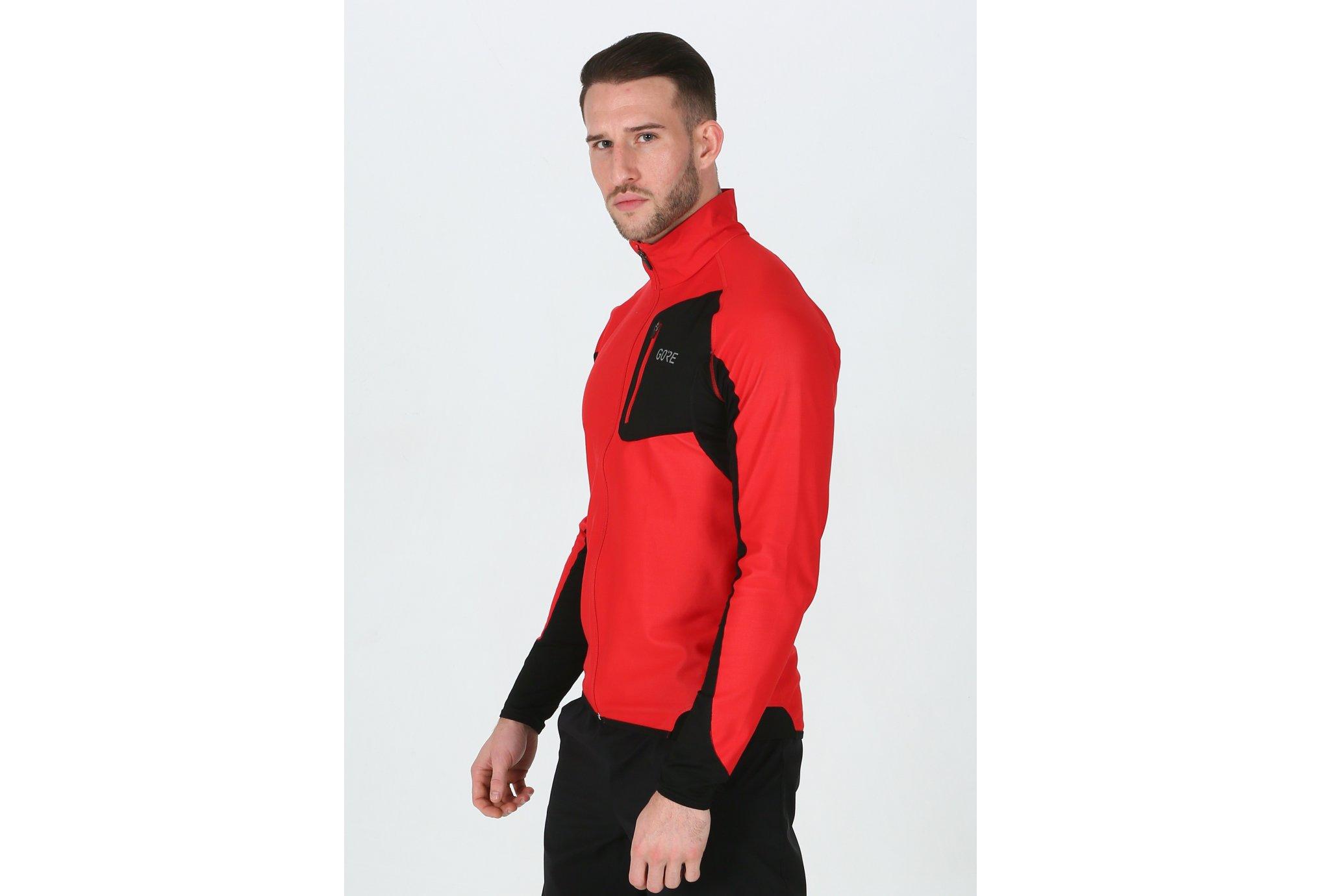 Gore Wear R3 Partial Gore Windstopper M vêtement running homme