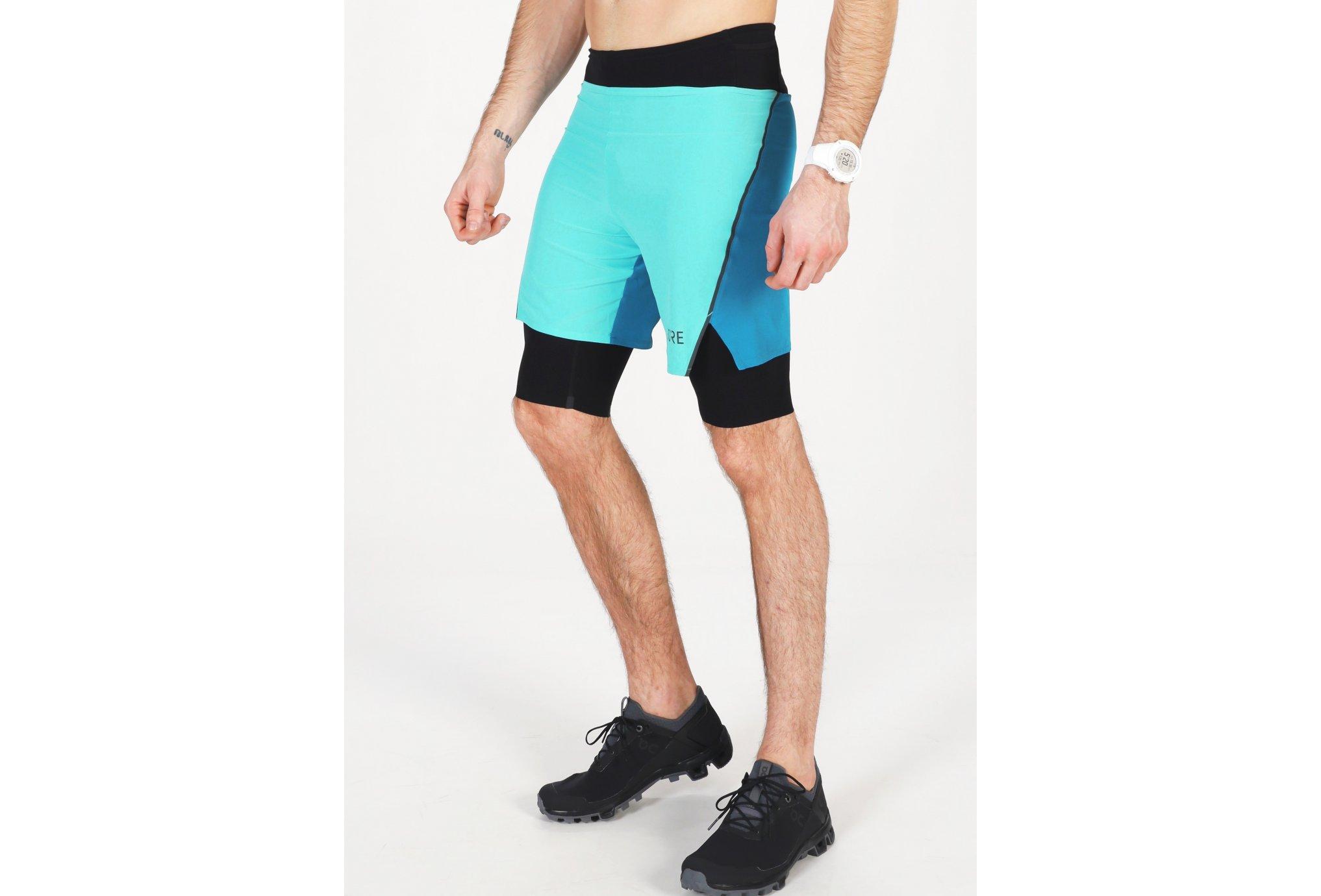 Gore Wear R7 2 en 1 M vêtement running homme