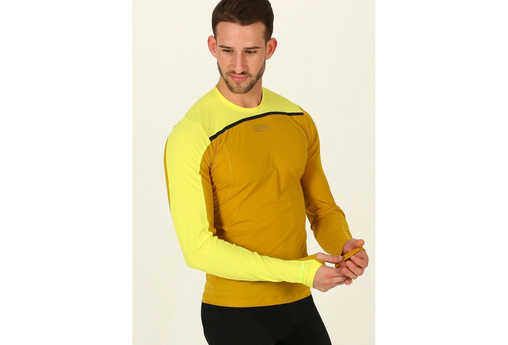 Gore Wear Tee-Shirt Fusion M vêtement running homme